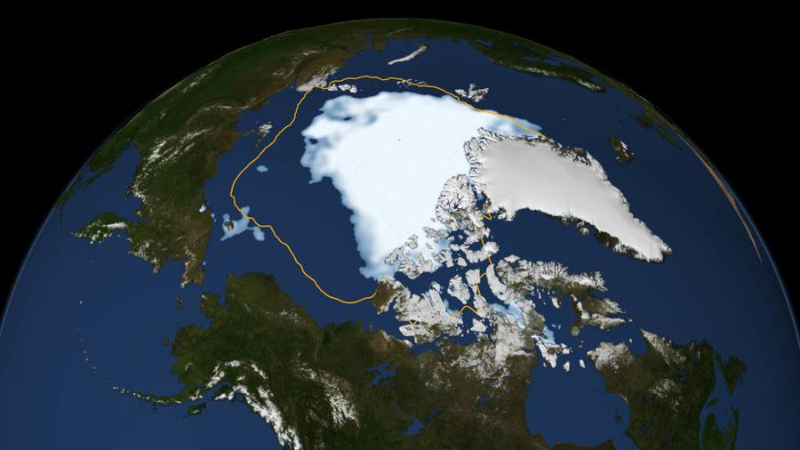 美國科學家利用冷戰衛星間諜照片,發現暖化速率比想像中快很多。(Photo by NASA on Flickr)