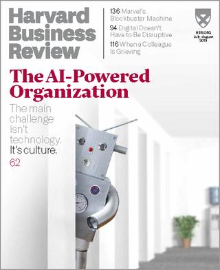 用AI翻轉企業(20190624 哈佛商業評論)