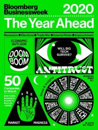 美國幫助下,2020年全球經濟可望復甦(彭博商業週刊20191028)