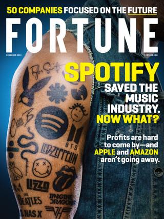 Spotify拯救過音樂產業,現在呢?(財星201911)