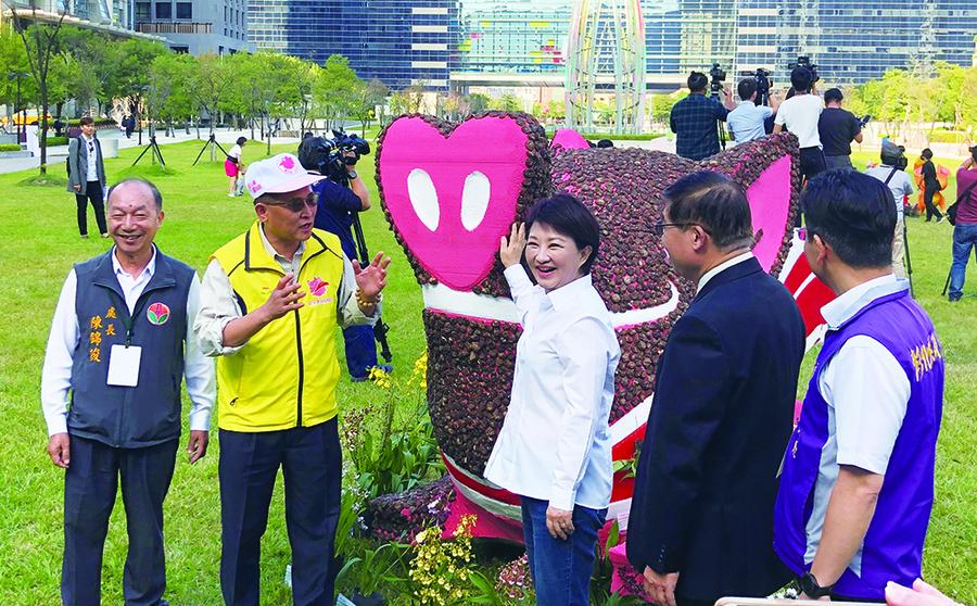 台中國際花毯節今年以小王子的星球之旅為主題,將充滿玫瑰花及「愛與希望」的視覺與氛圍。(photo by 劉東皋/台灣醒報)