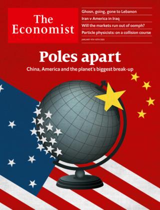 檯面下激烈進行的美中分手(經濟學人週刊20200105)