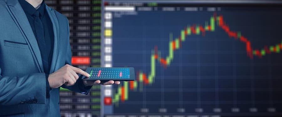 Stock-exchange-profits-boom-businessman