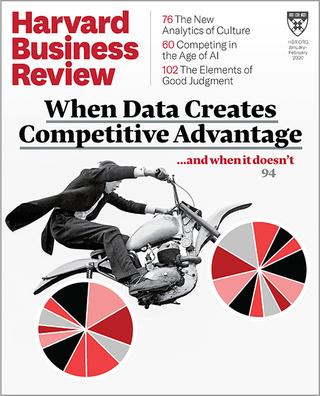 大數據如何創造商業優勢?(哈佛商業評論20200112)