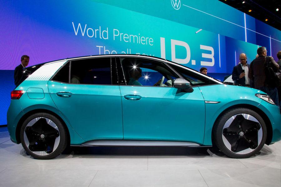 從福斯的電動車銷售狀況,可看出電動車未來的商機潛能高。(Photo on Wikipedia)
