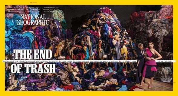 浪費是危害環境的不良循環(國家地理雜誌20200223)