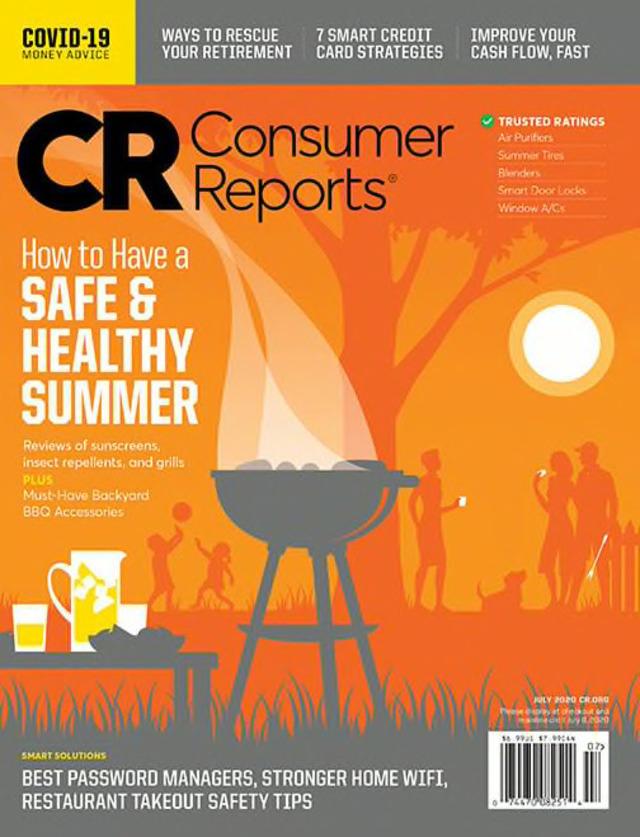 夏日健康防曬大作戰(消費者報告Consumer Reports 20200520)