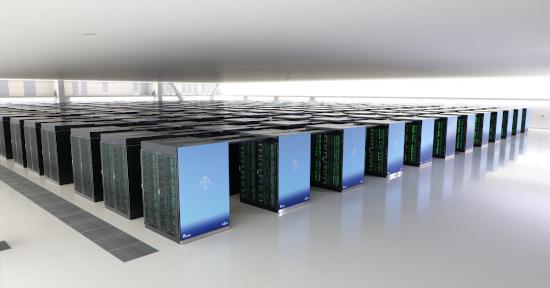 日本超級電腦「富岳」。(圖片from理研官網)