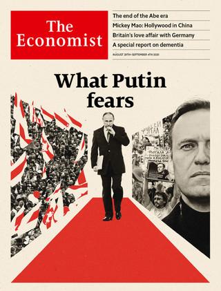 俄國與白俄民眾紛抗議領導者 (經濟學人The Economists 20200829  )