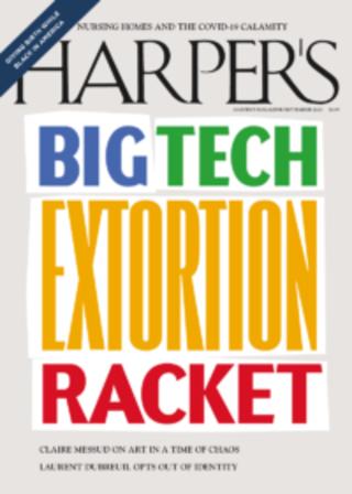 科技巨擘如何控制世界 (哈潑雜誌 Harper's Magazine)