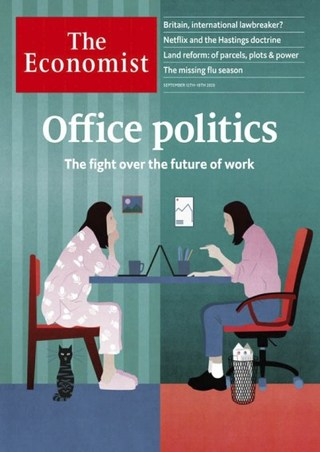 在家工作恐成常態 規範應超前部署 (經濟學人 The Economists 20200912)