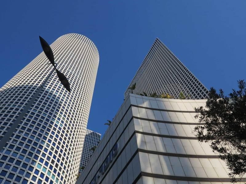 以色列特拉維夫匯聚了許多新創公司和育成中心。(photo by 郭淑鳳)
