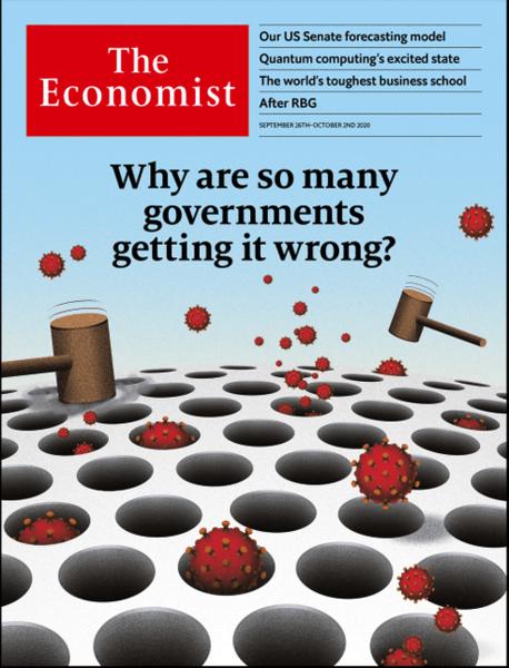 疫情降低死亡率 卻使政府漸失民心 (經濟學人 The Economist 0926)