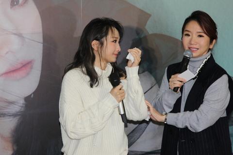 朱俐靜勇敢抗癌 發片記者會訴心境