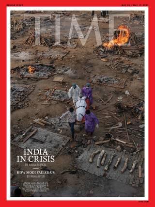曙光後的災難 印度疫情大爆發(時代雜誌 Times)