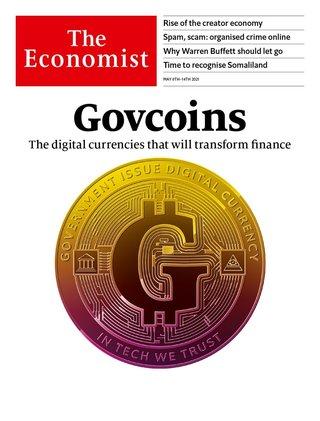 顛覆傳統貨幣 各國央行提供數位通貨(週刊頭條 經濟學人 The Economist)