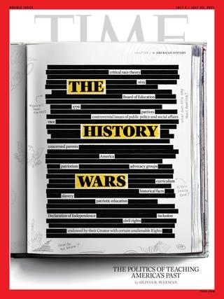 種族主義教學法 美陷入兩方爭論(時代雜誌 Time)
