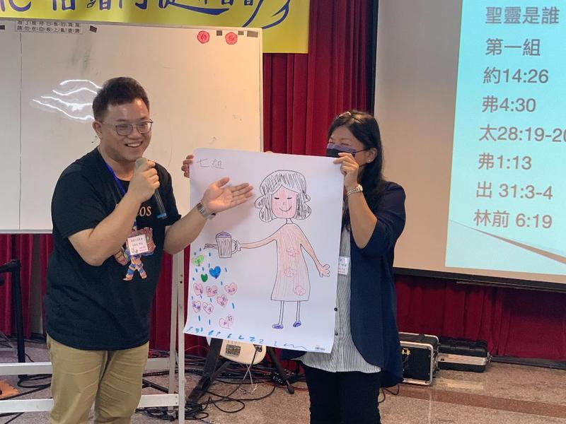 菲律賓CCF基督使命團契過去即常與台灣中小型教會合作,共同推動倍增教會與社群訓練。(photp by 黃均培牧師)
