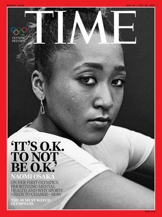 輿論需尊重運動員 保留隱私與心理空間(時代雜誌 Times)