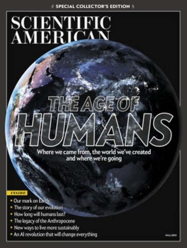 古人類進化 來自族群融合(科學人 Scientific American)